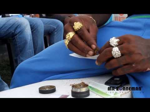 How To Roll A Blunt : Marijuana video