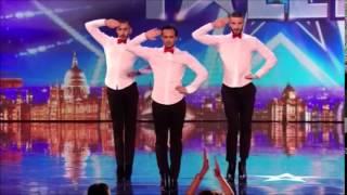 Britian's Got Talent 2014 ~ 3 Hot French Men Dance in Heels
