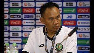 HLV Brunei nghẹn ngào như muốn khóc sau trận thua 0-6 trước U23 Việt Nam