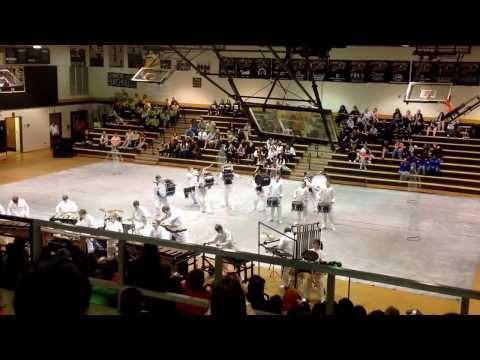 Wheatmore High School Winter Drumline 2014- Concord High School