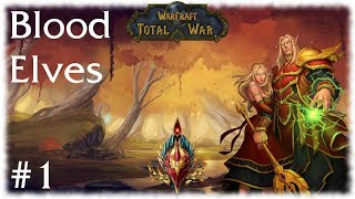 M2TW: Warcraft Total War Mod ~ Blood Elves Campaign Part 1, Glory to the Sin'dorei