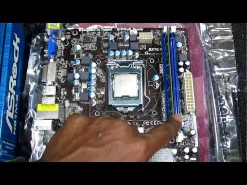How to Install Arctic Cooling Freezer 7 Pro Rev.2 CPU HeatSink Cooler