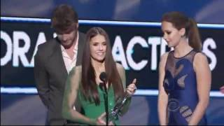 Nina Dobrev Wins - TV Drama Actress