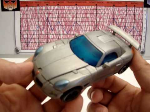TRANSFORMERS THE MOVIE - AUTOBOT JAZZ - TOY REVIEW