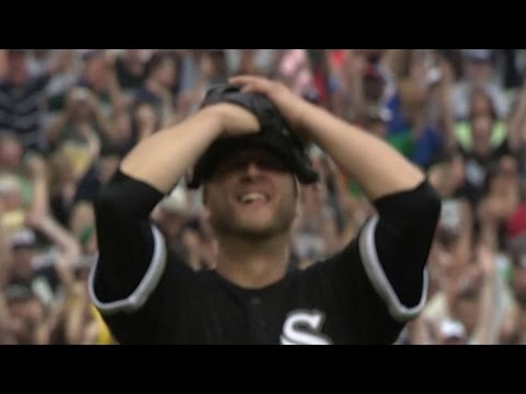 Buehrle induces grounder to seal perfect game