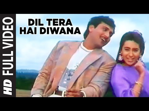 Dil Tera Hai Diwana Full Hd Song | Muqabla | Govinda, Karishma Kapoor video