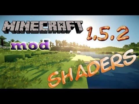 Minecraft mod Shaders 1.5.2   mas Pack de Shaders para diferentes computadoras