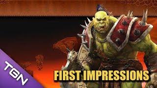 Warcraft Alliance and Horde : Warcraft 4 Mod For Starcraft 2