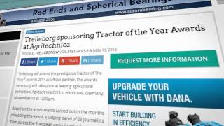 Trelleborg and Tractor of the Year® 2015 A new challenge begins!