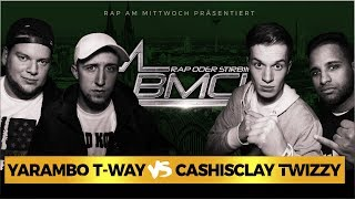 BMCL RAP BATTLE: YARAMBO + T-WAY VS CASHISCLAY + TWIZZY (BATTLEMANIA CHAMPIONSLEAGUE)