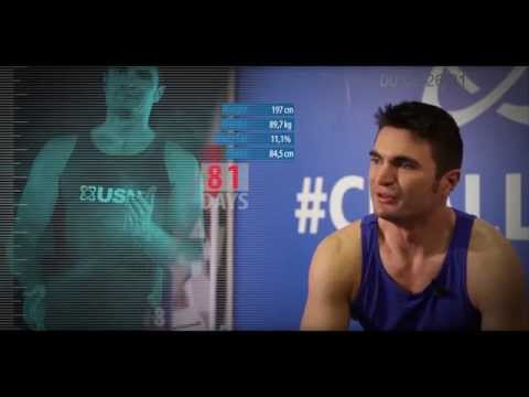 USN Body Makeover Challenge 2013/2014 - Dean Rawlins