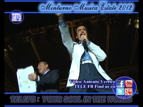 MME 24 – LITTLE TONY Cuore Matto – MINTURNO MUSICA ESTATE 2012 – Mammaro (A. Verrico)