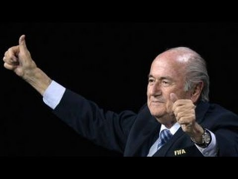 Sepp Blatter re-elected as FIFA president