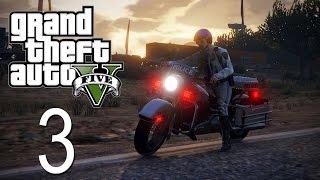 GTA 5 - LSPDFR - Episode 3 - Motorcycle Cop!