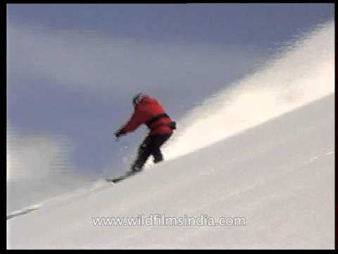 The amazing Xtreme sport - Snowboarding