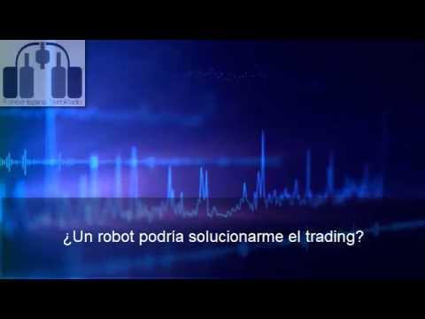 ¿Un robot podría solucionarme el trading?