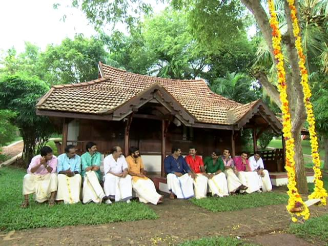 PARAMBARA PAYASAM Onam Special  Serial Actors