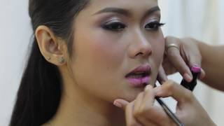 Syna Makeup School | ផាត់មុខបែបចូលរួមកម្មពិធីខួបកំណើត Birthday Makeup