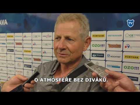 FNL: Rozhovor s Vlastimilem Petrželou po utkání s Budějovicemi.