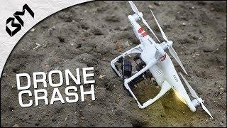 J'AI CRASHÉ MON DRONE DANS L'EAU... - Bugz Tech