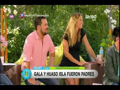 La emotiva foto de Gala Caldirola y Huaso Isla antes del nacimiento del parto de su hija