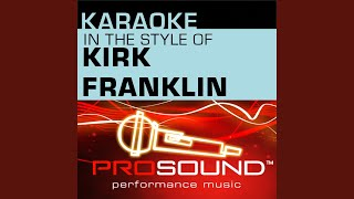 Stomp Karaoke Instrumental Track In The Style Of Kirk Franklin