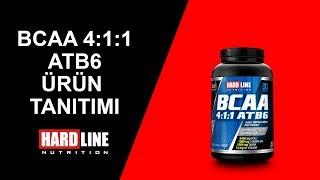 BCAA ATB6 Tablet- Hardline Nutrition Ürün Tanıtım
