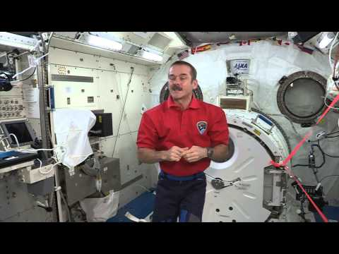 A message from Cmdr Chris Hadfield to RMC Cadets
