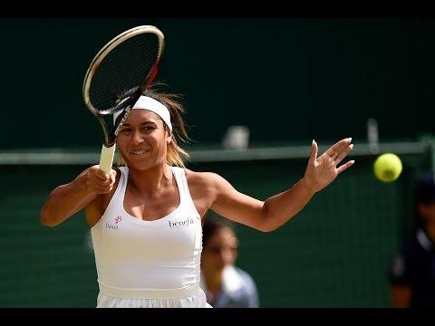HSBC Play Of The Day: Heather Watson's huge forehand - Wimbledon 2014