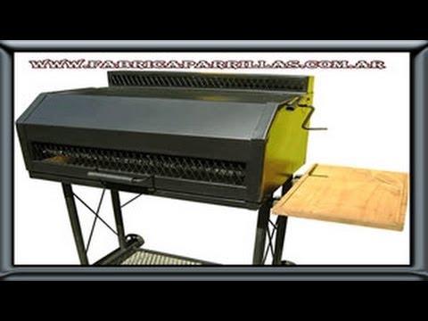 Barbacoa argentina fabrica de parrillas o tambor youtube - Barbacoas argentinas precios ...