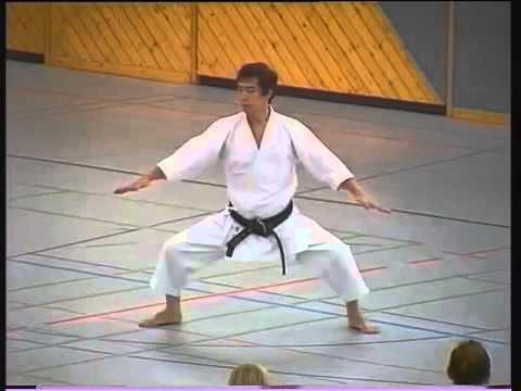 Seienchin kata, Hirokazu Kanazawa, 10th dan shotokan