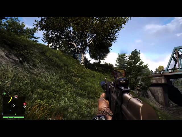 Far Cry 4 Rhino Roadblock