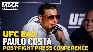 UFC 241: Paulo Costa Post-Fight Press Conference - MMA Fighting