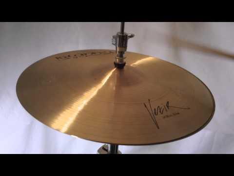 *SOLD* - Istanbul Agop Vezir Hi Hat Cymbals 14