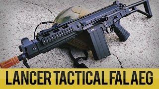 Lancer Tactical FAL AEG Overview | Airsoft Megastore