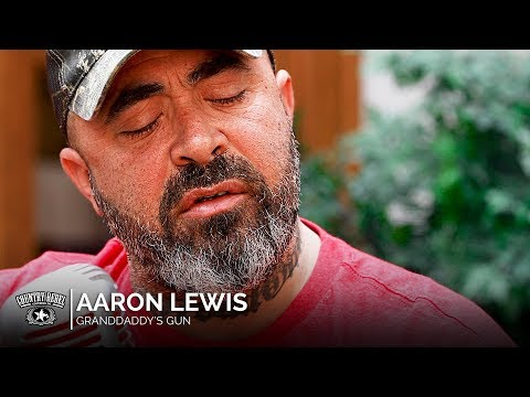Aaron Lewis - Granddaddy's Gun (Acoustic) // Country Rebel HQ Session