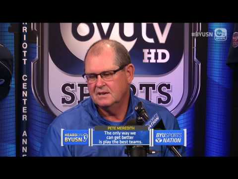 BYU Sports Nation interview with Pete Meredith | December 7, 2016