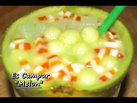 Kreasi Membuat Es Campur Melon Mudah, Enak dan Segar ala Zasanah