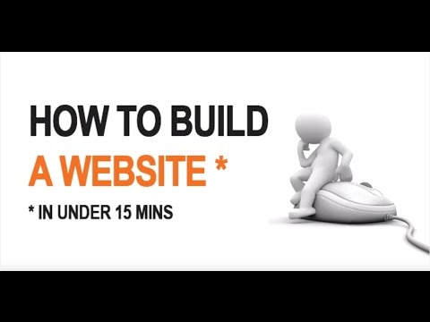 How To Make A Website in Under 15 mins  - Step By Step