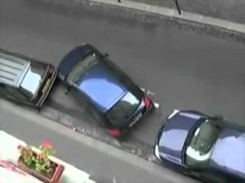 TV jaja - Jak zaparkować auto w zatłoczonym mieście?