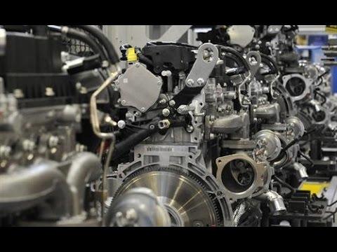 Ford EcoBoost Engine Factory : Ford Engine Factory : Ford Bridgend Engine Plant