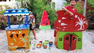 Trò Chơi Songs New PlayHouse ❤ ChiChi ToysReview TV ❤ Đồ Chơi Trẻ Em Nhà Mới Bé Doli Bài hát