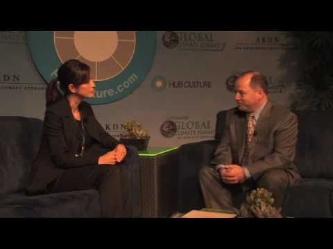 Hub Interview with Simon Saba at the Governors  Global Climate Change Summit 2