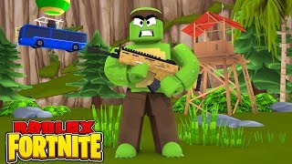BECOMING THE BEST FORTNITE PLAYER IN ROBLOX!