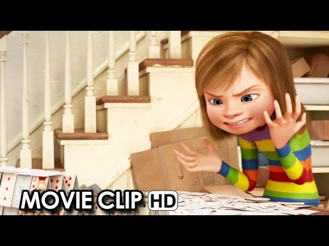 INSIDE OUT Movie CLIP 'Get to know Anger' (2015) - Lewis Black HD