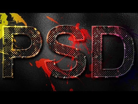 Eroded Metal Text Effect | Photoshop Tutorial