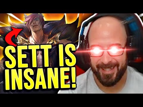 I AM WAY TOO NUTTY WITH SETT IN TOP LANE!!! - SRO Road to Challenger