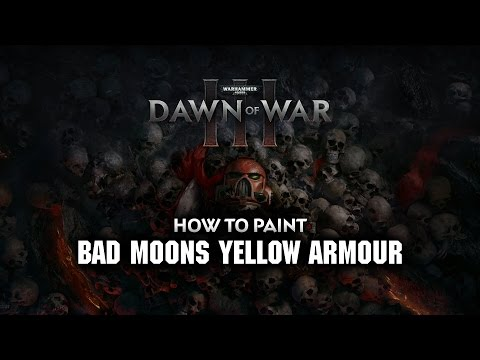 WHTV Tip of the Day - Bad Moons Yellow Armour.