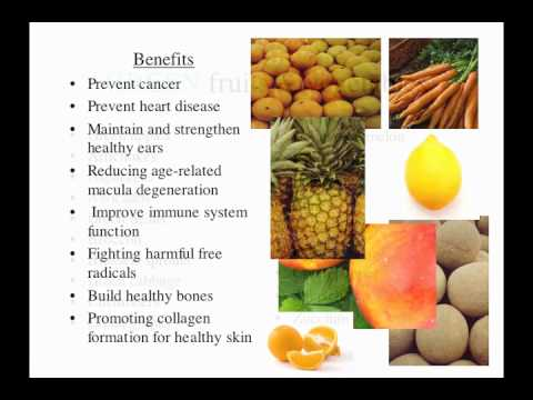 The Benefits of Different Colored Fruits & Vegetables