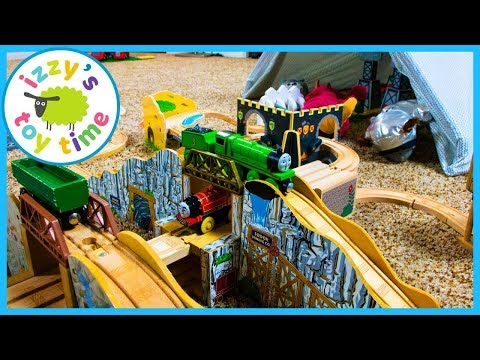 Thomas and Friends Gold Mine Mountain! Fun Toy Trains for Kids!